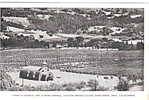 Church Italian Swiss Colony Winery Asti California p26338 (Image1)