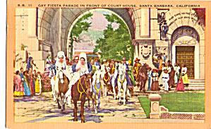 Gay Fiesta Parade Front of Court House Santa Barbara CA p26339 (Image1)