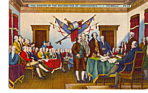 Signing of the Declaration of Independence J Trumbull Philadelphia PA  p26369 (Image1)