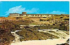 The Adobe Resort Motel Yachats Oregon Postcard p26373 (Image1)