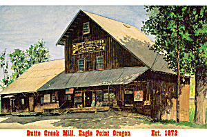 Butte Creek Mill, Eagle Point, Orgeon (Image1)