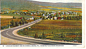 Lincoln Highway at McConnellsburg Pennsylvania p26377 (Image1)