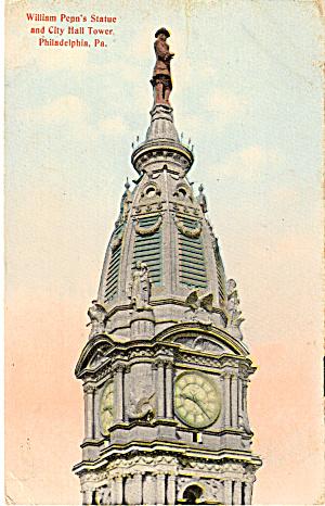 William Penn s Statue City Hall  Philadelphia PA p26401 (Image1)