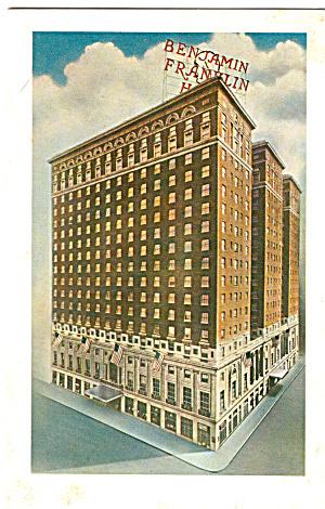 Benjamin Franklin Hotel Philadelphia Pennsylvania PA p26402 (Image1)