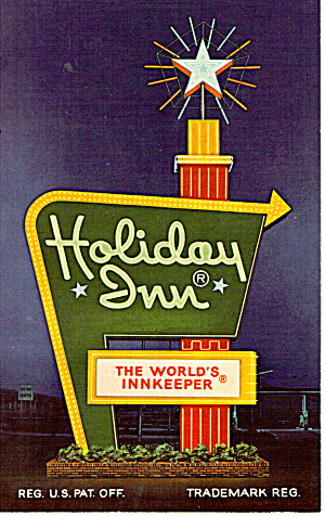 Holiday Inn Sign State College Pennsylvania P26403