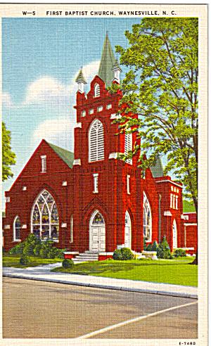 First Baptist Church  Waynesville   North Carolina p26476 (Image1)