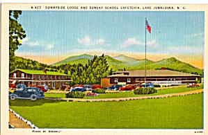 Sunnyside Lodge and Sunday School Cafeteria Lake Junaluska NC p26487 (Image1)