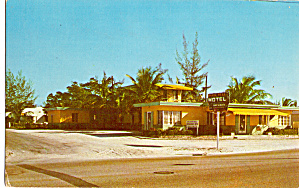 Dixie Bell Motel Lake Worth Florida Postcard p26492 (Image1)