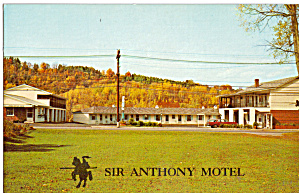 Sir Anthony Motel Barre Vermont P26502