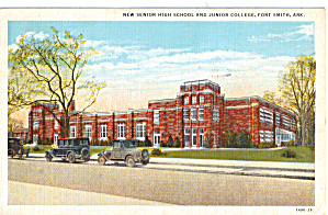 Senior High And Junior College Fort Smith Arkansas P26509