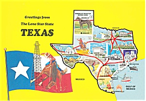 Greetings From Texas Postcard (Image1)