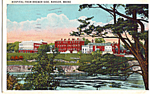 Hospital From Brewer Side Bangor Maine P26511
