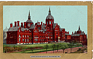 John Hopkins Hospital, Baltimore, Maryland (Image1)