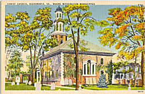 Christ Church, Alexandria,Virginia (Image1)
