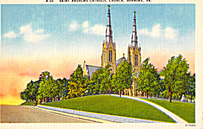 Saint Andrews Catholic Church, Roanoke, Virginia (Image1)