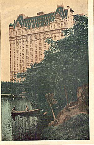 The Plaza New York City New York Postcard p26545 (Image1)
