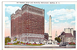 Statler Hotel Mckinley Monument Buffalo New York P26564