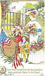 Memorial Day Postcard p2657 (Image1)