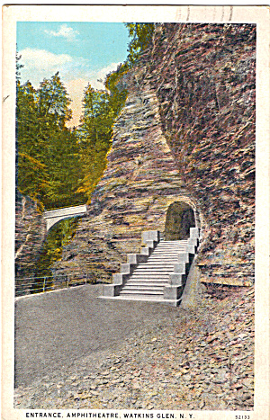 Entrance Amphitheatre Watkins Glen New York P26586