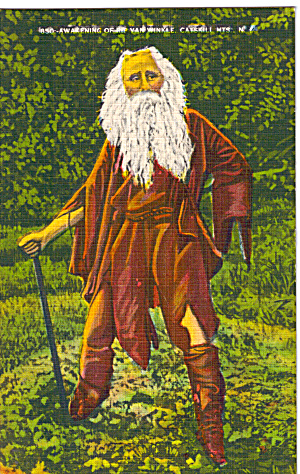 Awakening of Rip Van Winkle Catskill Mts New York p26587 (Image1)