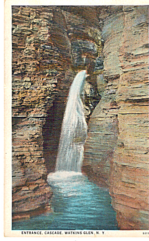 Entrance Cascade, Watkins Glen,New York (Image1)