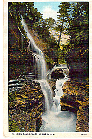 Rainbow Falls, Watkins Glen,New York (Image1)