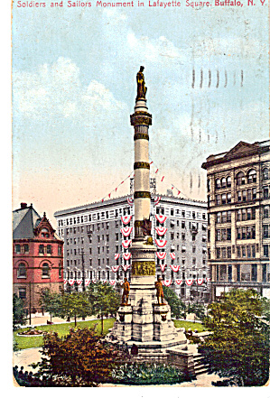 Soldiers and Sailors Monument Lafayette Square Buffalo NY p26601 (Image1)