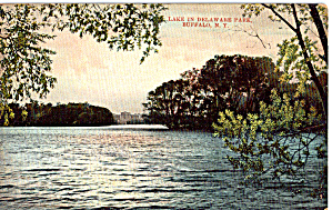 Lake in Delaware Park Buffalo New York p26612 (Image1)