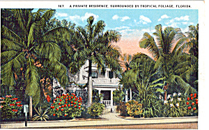 A Private Residence Surrounded by Tropical Foliage FL p26638 (Image1)