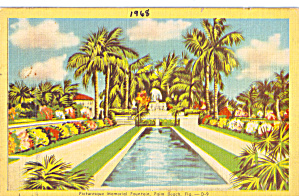 Memorial Fountain Palm Beach Florida p26646 (Image1)