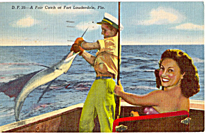 A Fair Catch at Fort Lauderdale Florida p26651 (Image1)