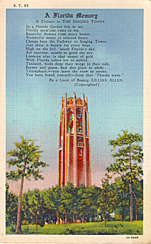 The Singing Tower, Lake Wales, Florida (Image1)