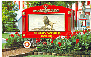 Circus Wagon Circus World,orlando Florida P26676