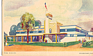 Muller Pabst Cafe A Century of Progress Postcard p26686 (Image1)