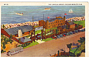 The Lincoln Group A Century Of Progress Postcard P26688