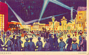Hollywood A Century Of Progress Postcard P26689