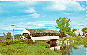 Groveton Covered Bridge, Groveton,New Hampshire (Image1)