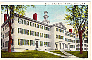 Dartmouth College Hanover New Hampshire P26719