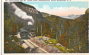 Steam Train climbing towards summit of the divide NH p26723 (Image1)