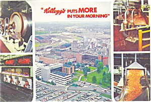 Kellogg Company Battle Creek MI Postcard (Image1)