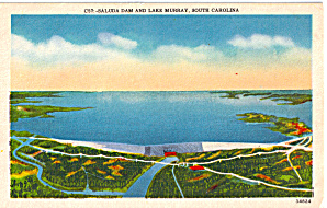 Saluda Dam and LakeMurray, South Carolina (Image1)