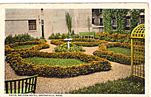 Patio Weldon Hotel Greenfield Massachusetts p26758 (Image1)