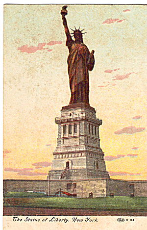 Statue Of Liberty  New York Harbor p26769 (Image1)