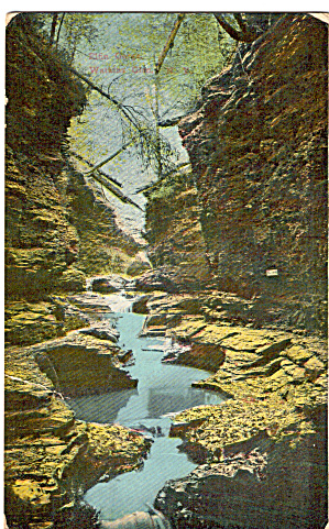 The Vista Watkins Glen Ny Postcard P26774