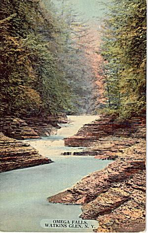 Omega Falls, Watkins Glen (Image1)