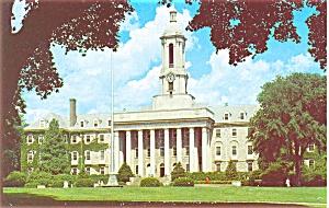 Old Main Penn State U Postcard p2678 (Image1)