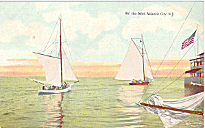 Sailboats Off The Inlet Atlantic City p26814 (Image1)