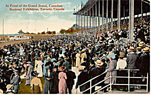 In Front of the Grand Stand Toronto Canada p26815 (Image1)
