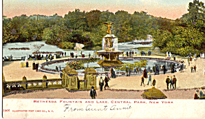 Bethesda Fountain Central Park New York City p26825 (Image1)