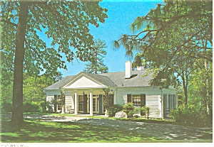 Little White House Georgia Postcard p2684 (Image1)